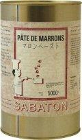 【サバトン】マロンペースト 5kg缶